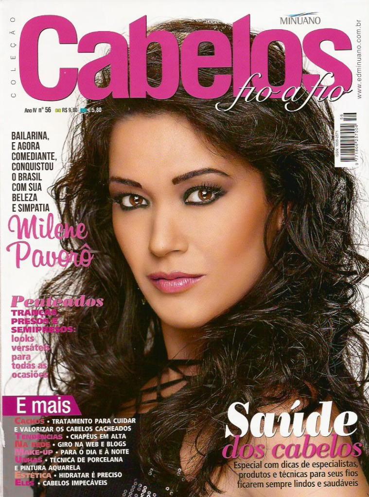 Revista Cabelos Fio a Fio - Capa - Outubro 2015