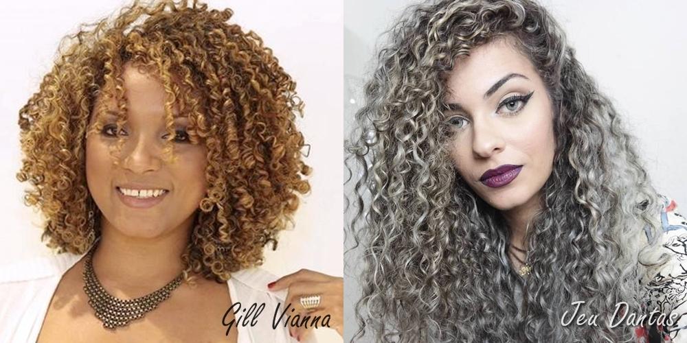 Blogueiras VIPs - Gill Vianna e Jeu Dantas - Evento Be Curly