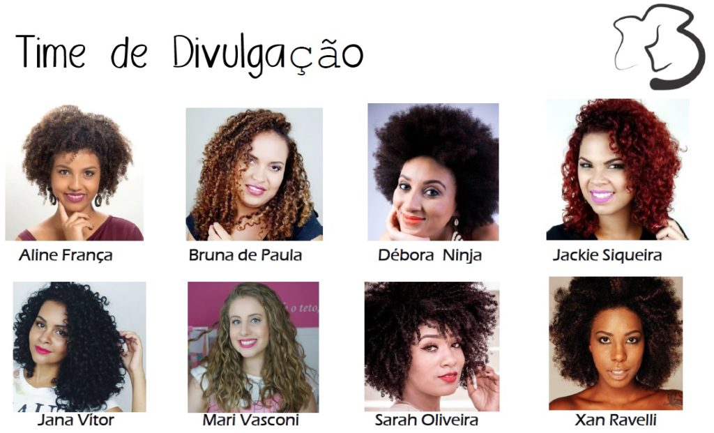 Time de Divulgação - Be Curly