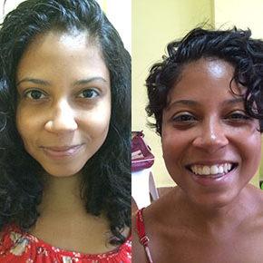 O antes e depois da Maria Del Mar Valenzuela