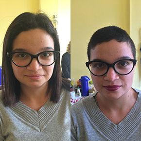"""O (super) big chop da Paula Campos: """" Me sinto mais feminina"""""""