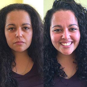 O antes e depois da Gabriela Duarte