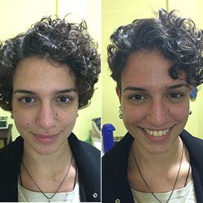 O antes e depois da Mariana Aguilar