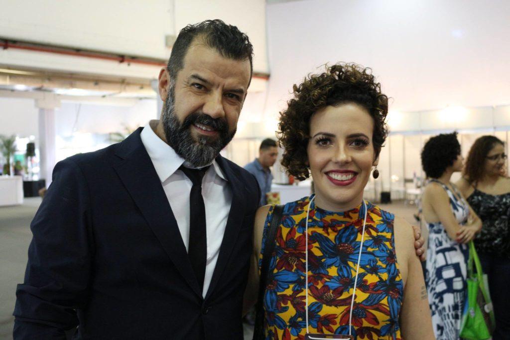 Com Denis da Silva, Deva Curl, Hair Brasil 2016