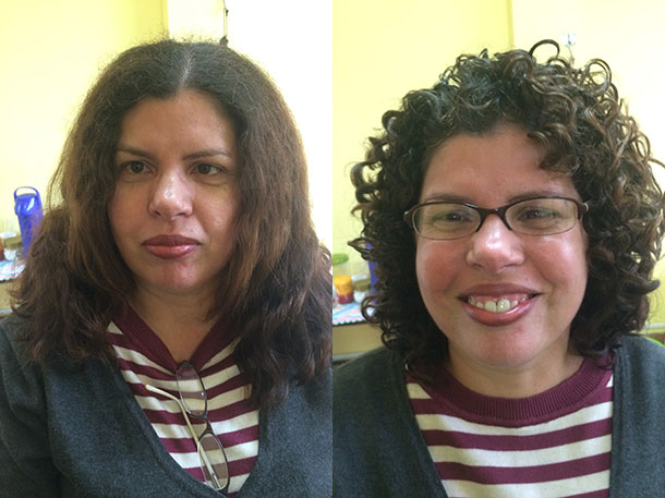 antes e depois maior