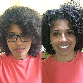 O antes e depois da Monique Matos