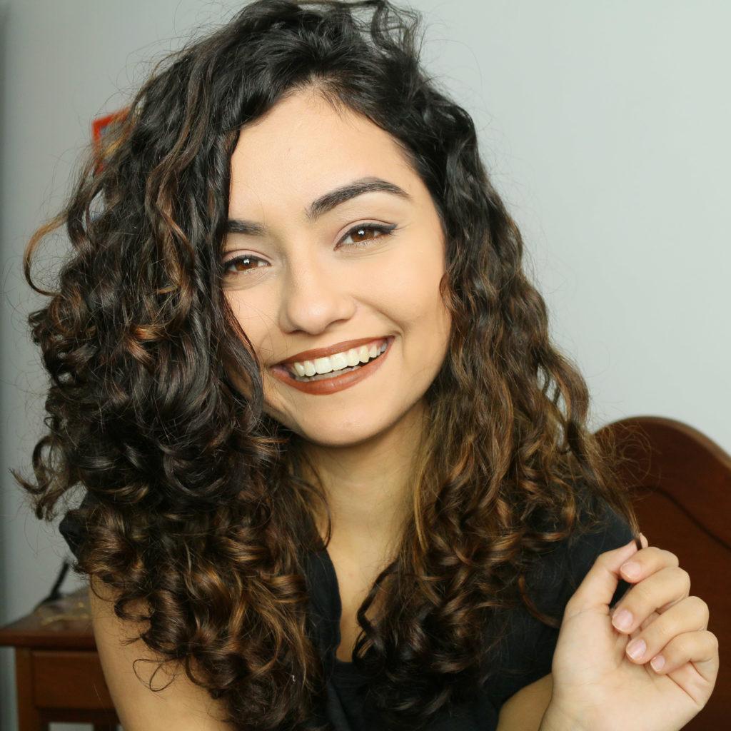 cabelo ondulado natural