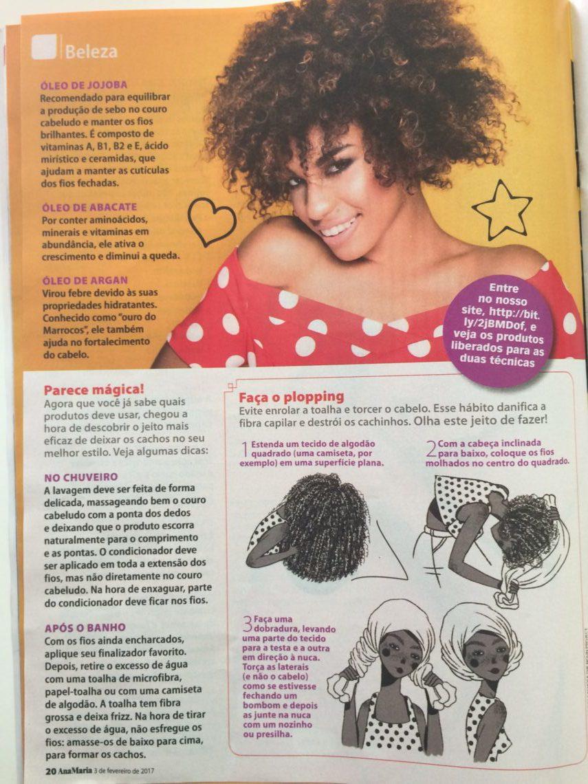 O Livro Dos Cachos Ganha Destaque Na Revista Ana Maria Cachos Fatos